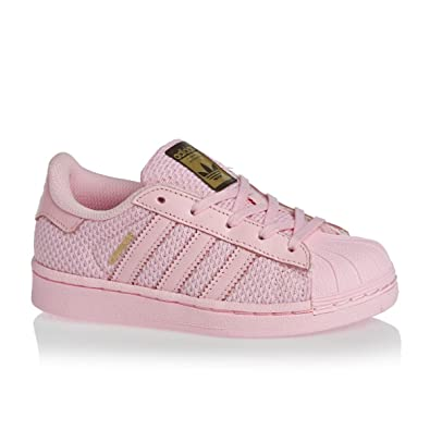 adidas Superstar Nylon Enfant Rose Rose 28