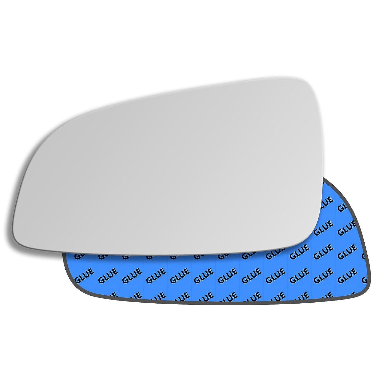 Hightecpl 18LS Left Passenger Side Convex Door Wing Mirror Glass Channel Autoparts Limited