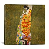 "iCanvasART Hoffnung ll (The Hope ll) By Gustav Klimt Canvas Print #14031 – 12""x12"" (1.5"" deep)"