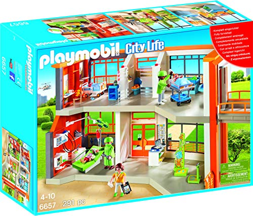PLAYMOBIL Furnished Children's Hospital from Playmobil