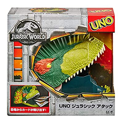 UNO: Attack! Jurassic World - Card Game: Toys & Games