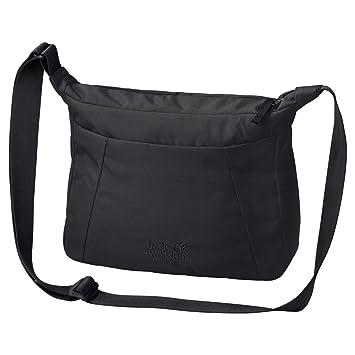 Jack Wolfskin Damen Valparaiso Bag Umhängetasche, Black, ONE SIZE