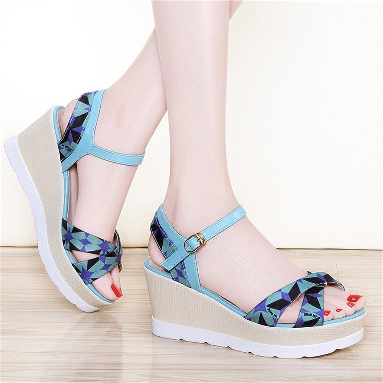 28771f3c ... Zapatos Botas Hilados Neto. Nuevo Huahua Sandalias Mujer Y Confort con  Un Llamativo Sandalias Romanas Grandes Números De Boca De