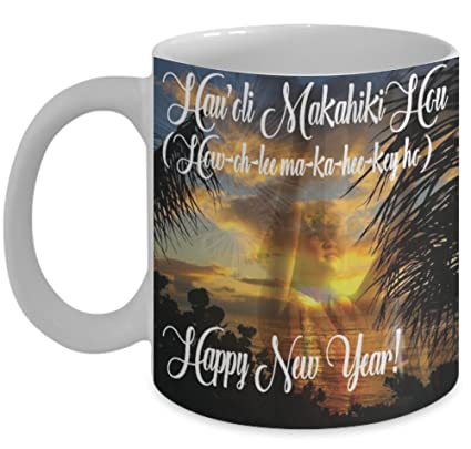 hawaii mug happy new year mugs with quotes by vitazi designs 11oz ceramic