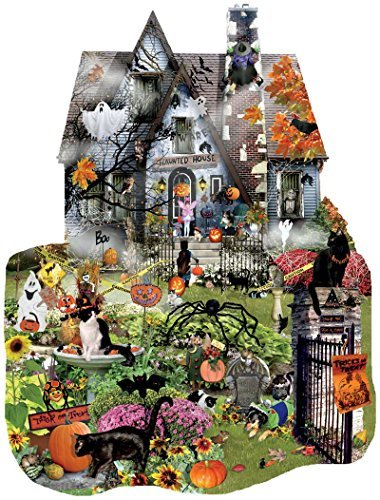 SunsOut Spooky House 1000 pc Jigsaw Puzzle