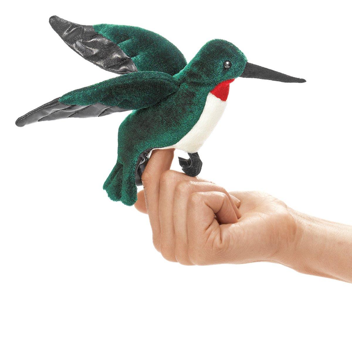 Folkmanis Mini Hummingbird Finger Puppet Folkmanis Puppets 2691