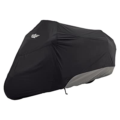UltraGard 4-444BC Black/Charcoal Touring Motorcycle Cover: Automotive [5Bkhe0416503]