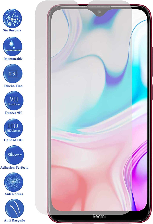 Todotumovil Protector de Pantalla Xiaomi Redmi 8 de Cristal Templado Vidrio 9H para movil