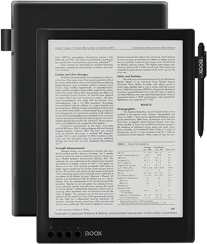 Lector E-book BOOX Max Carta con Funda Lápiz, 13.3
