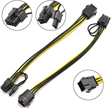 """8-Pin PCIE Power Extension Cable for GPU Video Card PCI-Express PCI-E 8/"""" 20CM"""