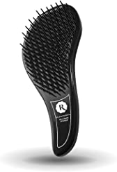 Rich & Famous The Ultimate Detangler Brush With Handle All Hair Types Reduces Split Ends