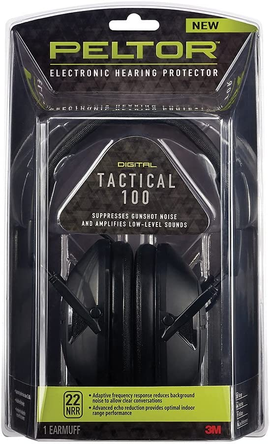 3M PELTOR Tactical 100 Electronic Ear Hearing Protector by 3M Peltor