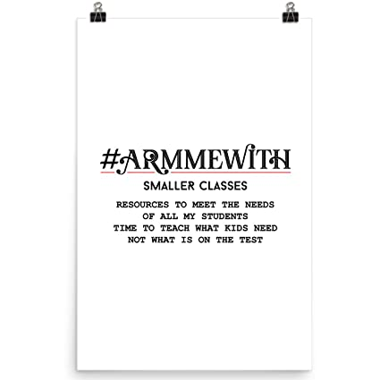 Amazon com: DoozyGifts99 #Armmewith Smaller Classes-Funny