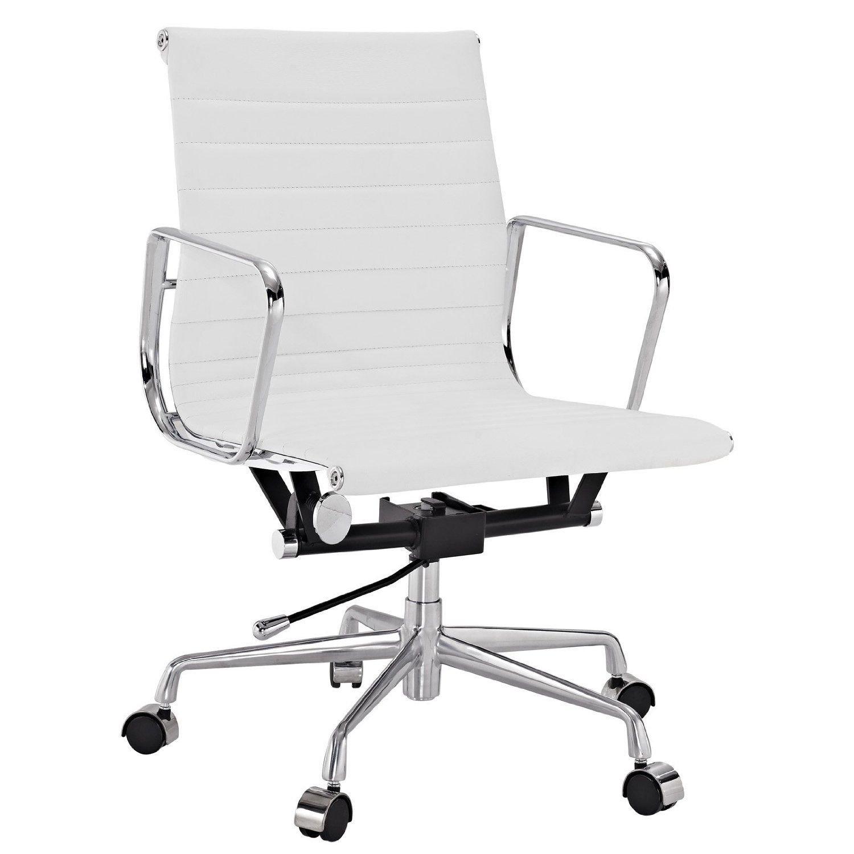 Super Amazon Com Modstone Charles Eames Style Aluminium Onthecornerstone Fun Painted Chair Ideas Images Onthecornerstoneorg
