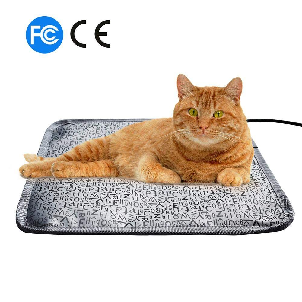 SUFUPETS Sufu - Manta eléctrica para Mascotas, Impermeable, antimordeduras, con Enchufe de EE. UU. 110 V: Amazon.es: Productos para mascotas
