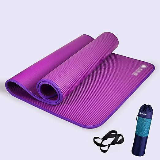 QRFDIAN Colchoneta de Yoga para Principiantes Engrosamiento ...