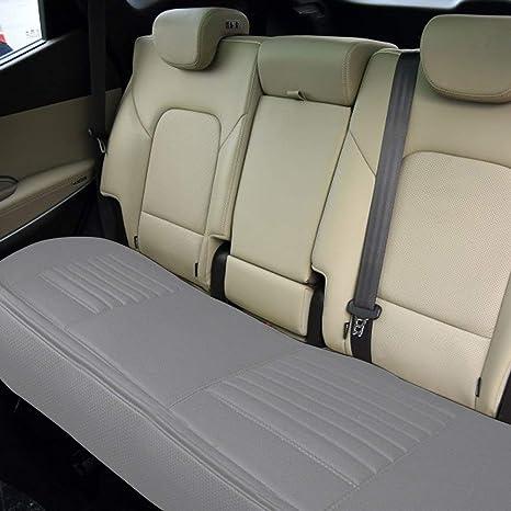 Brilliant Amazon Com Big Ant Back Seat Covers Rear Seat Cover Pu Machost Co Dining Chair Design Ideas Machostcouk