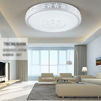 Weiße Schlafzimmer Lampe LED Deckenleuchte Schlafzimmer Zimmer rund ...