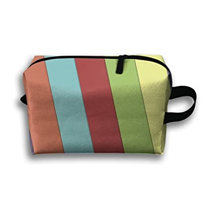 Abstract Colorful Pattern Colors Multifunction Portable Pouch Waterproof Travel  Bag ba3251f11fc54