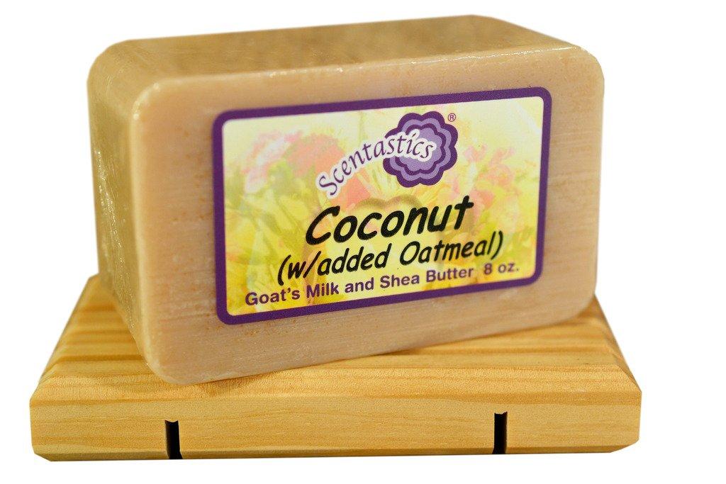Scentastics Goat's Milk and Shea Butter Coconut Soap (8 oz. bar)