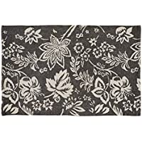 VHC Farmhouse Flooring - Lilianna Rug, 18 x 26, Charcoal