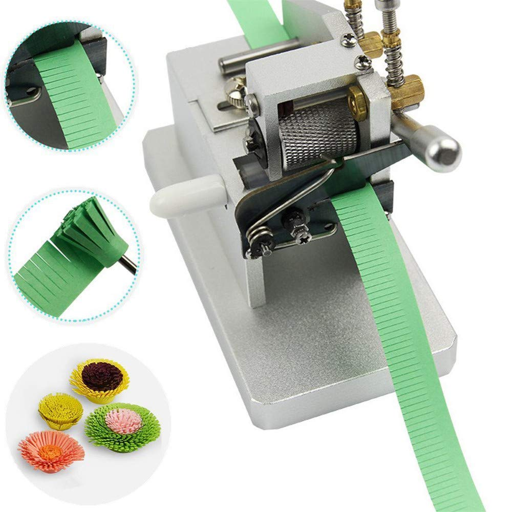 EZYOU Paper Tassel Cutting Machine,DIY Quilling Flower Making Tools,Mini Paper Strips Tassel Cutting Craft Tool by EZYOU