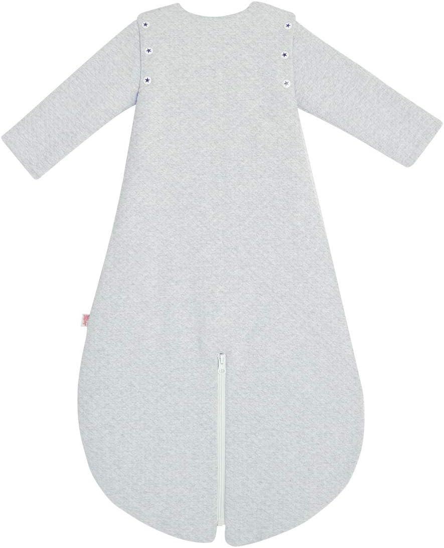 Petit B/éguin Turbulette dhiver en velours manches amovibles Forever Long. 75cm Taille 0//6 mois
