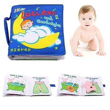 Livres De Bebe Touchez Et Sentez Le Livre De Tissu Apprenant