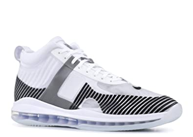 finest selection a38d9 100a5 Image Unavailable. Image not available for. Color  Nike Lebron 10 JE Icon  QS - US 10.5 White Black