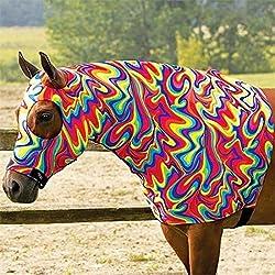 Sleazy Sleepwear Tango Hood Sleazy with Eye and Ear Holes and Zipper Neck and Velcro Closures (Medium 800-1100 lbs)