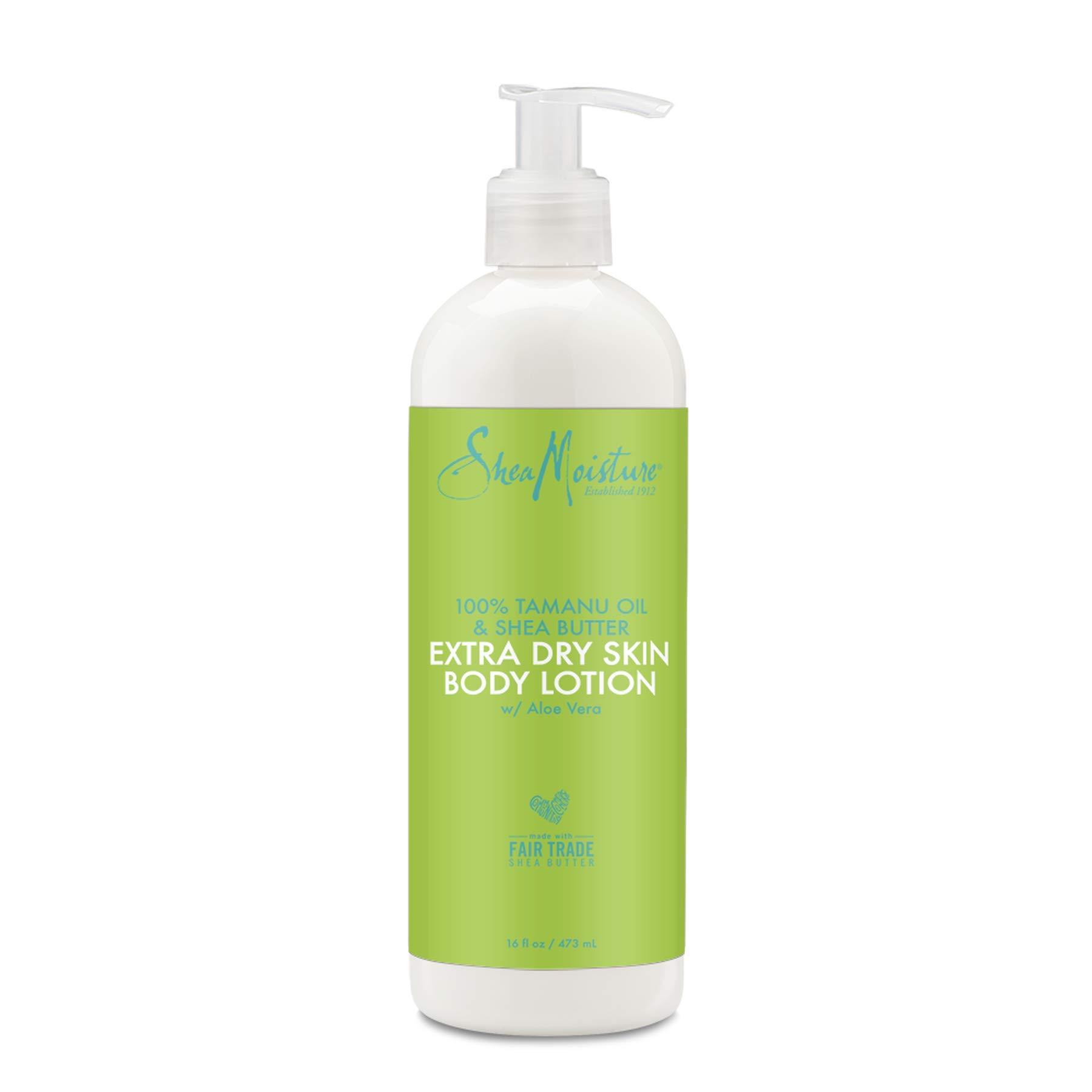 Shea Moisture 100% tamanu oil & organic shea butter extra dry skin body lotion by shea moisture for unisex body lotion, 16 Ounce by Shea Moisture