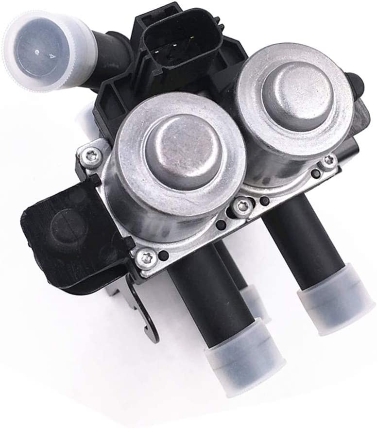 XR822975 1147412148 Heater Control Water Valve for JAGUAR S-Type Ford 2000 2001 2002 5 Pipes Water Heater Control Valve Vacuum Solenoid Valve