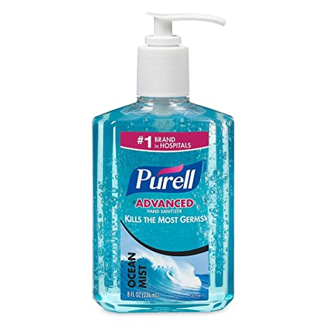 Amazon Com Purell Scented Instant Hand Sanitizer Beauty