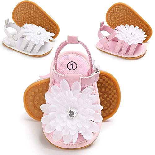 832facdaef259 myggpp Tutoo Toddler Baby Girl Sandals Fshion Princess Dress Flower Summer  Shoes Soft Anti Slip Infant First Walkers Crib Shoes
