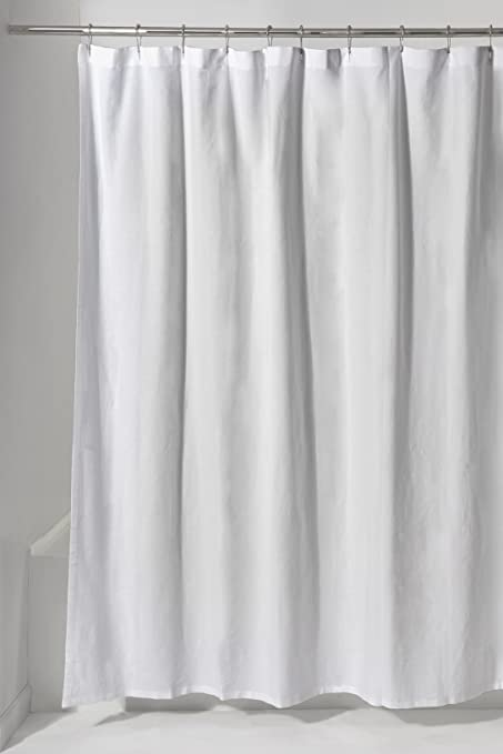 Water Works Maeve Linen And Cotton Shower Curtain 72quot X