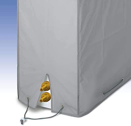 Rayen 6061 - Funda para aire acondicionado, con doble sistema de ...