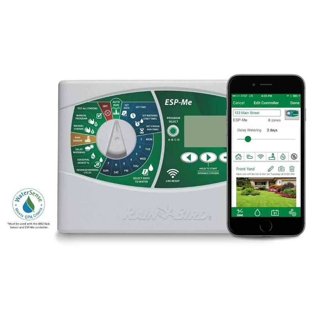 Control por internet de programadores ESP-RZXe y ESP-Me Rain Bird m/ódulo LNK Wifi