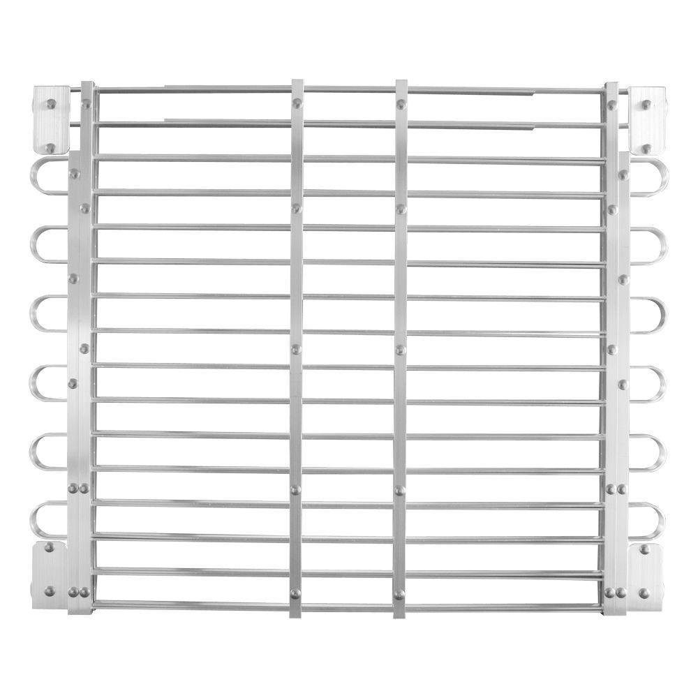 Adjust-A-Grate L8 30 - 33 in. x 45 - 60 in. Adjustable Aluminum Window Well Grate