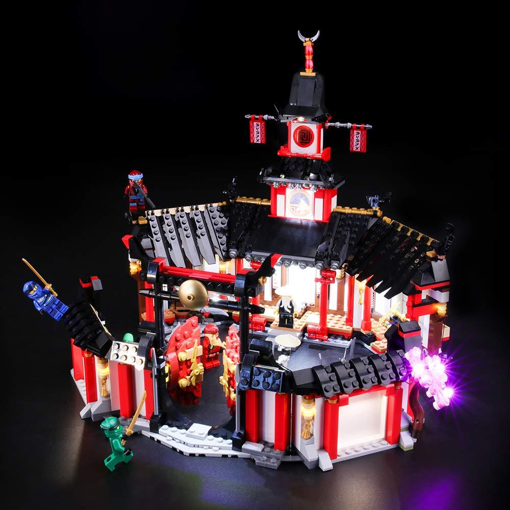 BRIKSMAX Kit de Iluminación Led para Lego Ninjago Monasterio ...