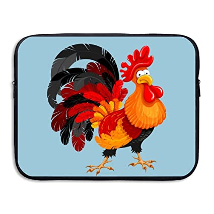 Laptop Sleeve Bag Cock Rooster Cover Computer Liner Package Protective Case  Waterproof Computer Portable Bags