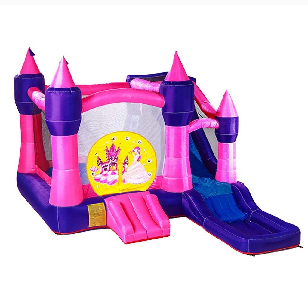muchas concesiones púrpura Castillo Inflable para niños Diapositiva Grande Grande Grande para Interiores Parque para niños Inflable Castillo de Moda Juguetes para niños Juguetes de trampolín al Aire Libre Parque de diversiones al Aire Libre 350x223x275cm  más vendido