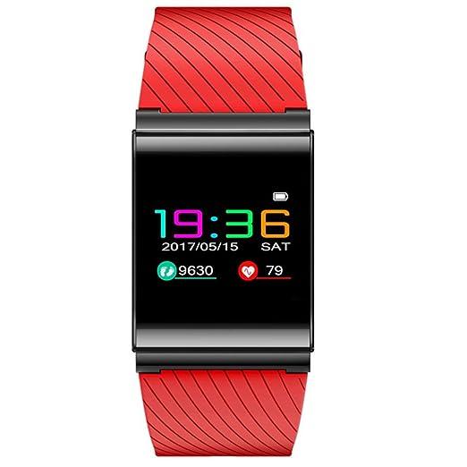 Koly pulsera reloj deportivo, X9 Pro HR Bluetooth 4.0 coloridos LED reloj de pulsera inteligente