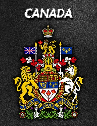 - Canada: Coat of Arms | 2020 Weekly Calendar | 12 Months | 107 pages 8.5 x 11 in. | Planner | Diary | Organizer | Agenda | Appointment | Half Spread Blank Pages