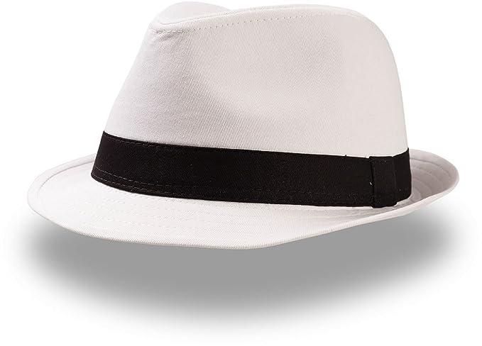 Cappellishop Be a Popstar Trilby Cappello di Tessuto in Cotone Falda  Stretta  Amazon.it  Abbigliamento 92ad03c0404a