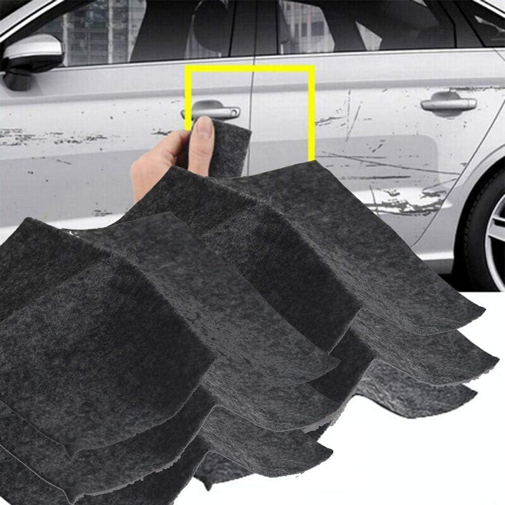Kit de r/éparation de Rayures de Voiture Polyvalent Surfilter 2 Pcs Nano Magic Car Scratch Remover Cloth pour l/élimination des Rayures de voitur dissolvant de Tourbillon de Peinture de Voiture