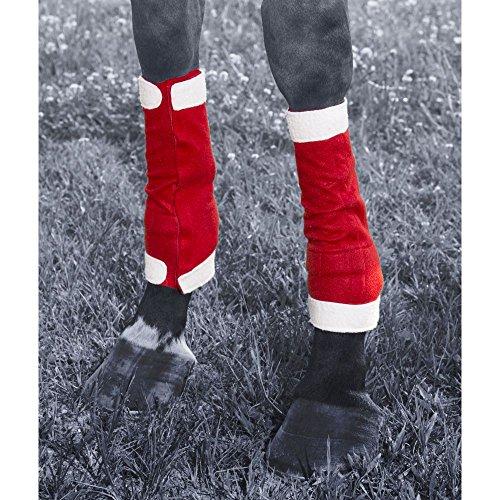 JT International Holiday Santa 4 Piece Leg Wraps
