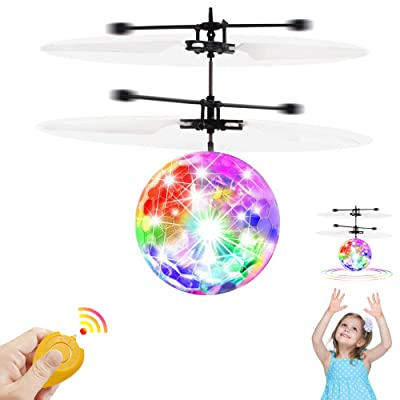 CPSYUB Flying Toys, Boys Toys Age 8, Hand Operated Mini Drone, Hands Free Helicopter Toys for Boys Age 4, 5, 6, 7, 8, 9, 10, 11, 12 Girls, Easy Flying Ball Drone for Kids Toys Gifts: Toys & Games