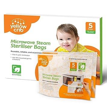 Amazon.com: Bolsa esterilizadora de vapor para microondas y ...