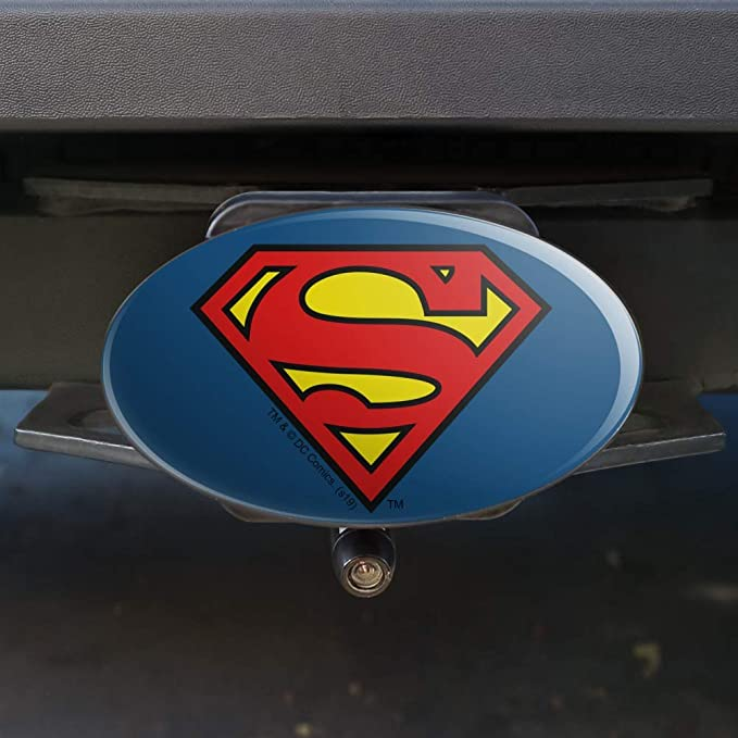 Graphics and More Superman Fortress of Solitude Tow Trailer Hitch Cover Plug Insert