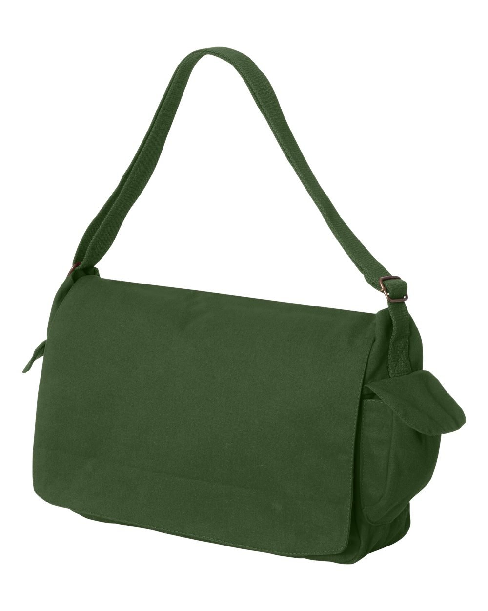 Tenacitee Born in 2002 - Aged Like a Fine Wine Green Brushed Canvas Messenger Bag by Tenacitee (Image #2)